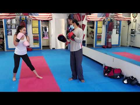 Jessie Training With Master Bernard 6-9-21