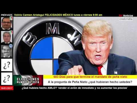Trump amenaza a BMW con impuesto por autos hechos en México