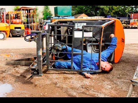 #3 Los mejores accidentes de trabajo, carretillas elevadoras, toros