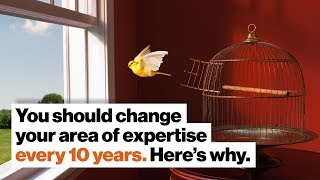 You should change your area of expertise every 10 years. Here's why. | Lee Smolin by Big Think