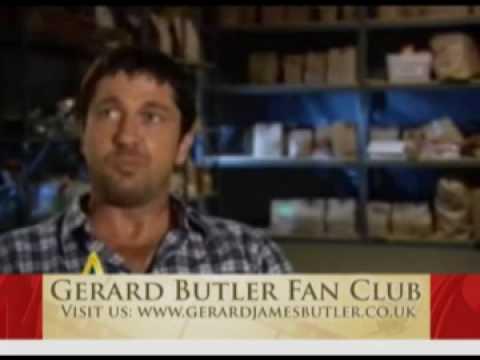 Gerard Butler interview The Bounty Hunter behind the scenes Jennifer Aniston 2010 movie