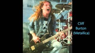 Bassist Duel (John Entwistle,Steve Harris,Geezer Butler,Cliff Burton,Geddy Lee,Rudy Sarzo)