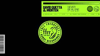 David Guetta & Aloe Blacc & MORTEN - Never Be Alone