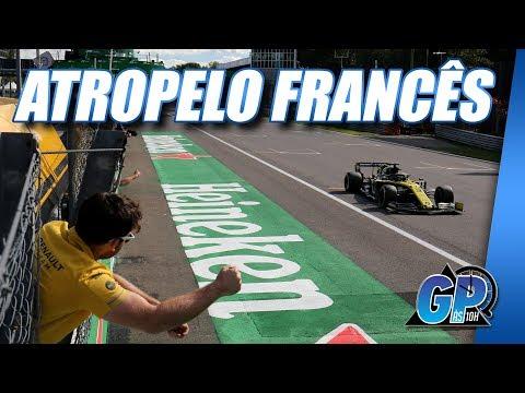 Renault brilha na Itália e reacende briga com McLaren na 'F1 B' | GP às 10