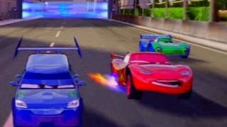 CARS ALIVE !  Cars 2 gameplay, Racing with DJ on Tokyo Airfield