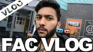 IS HE OUR BIGGEST FAN? | FAC 53 VLOG: DAY 1