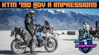 Getting to know my - KTM 790 Adventure R - Самые лучшие видео