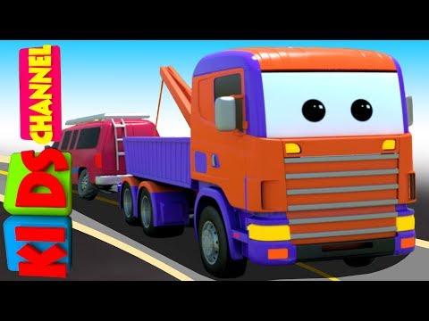 3D Car Garage   MUV   Toy Car Factory   Video For Kids