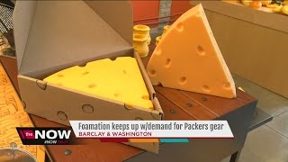 Packer fans gear up at Foamation in Milwaukee