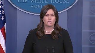 5/22/18: White House Press Briefing