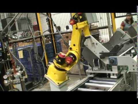 Robotic Sealant Dispensing and Assembly
