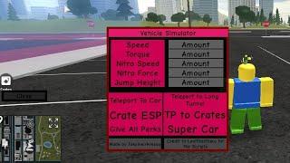 roblox vehicle simulator money hack script 2018 pastebin