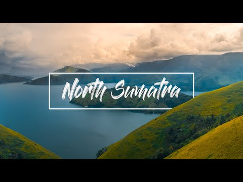 Drone Footage of Beautiful North Sumatra