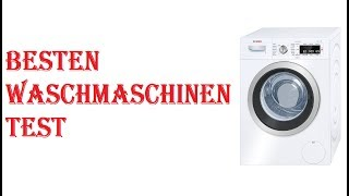 Besten Waschmaschinen Test 2020