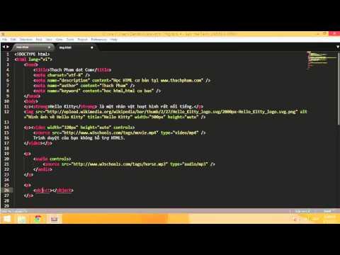 Học HTML cơ bản cùng Thạch Phạm (P8)