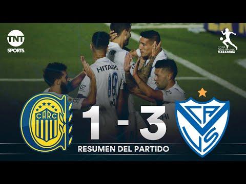 Vélez venció a Rosario Central y es el ganador de la Zona Complementación