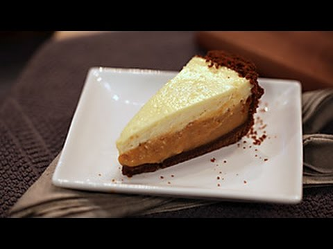Duff's Sweet Spot: Pumpkin Cream Pie with Gingersnap Crust and Rum Cheesecake Topping