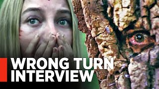 WRONG TURN (2021) -  Charlotte Vega Interview [Exclusive] by MovieWeb