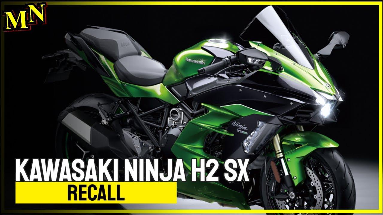 Recall: Kawasaki Ninja H2 SX