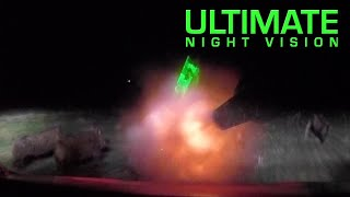 Insane Feral Hog Eradication Footage - 70 Hogs Down in One Night