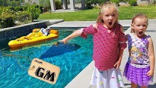 Game Master Pranks Us & Drops Clown in Our Pool!