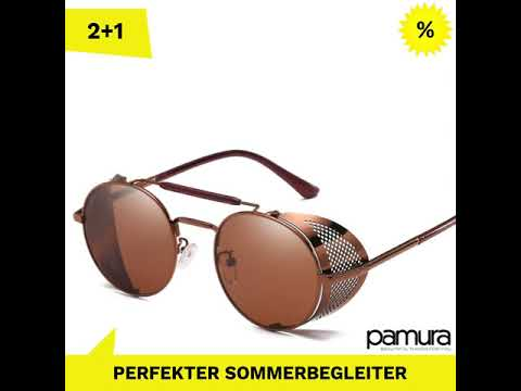 JAQUES - die retro Steampunk-Sonnenbrille