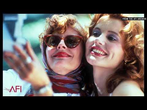 Video trailer för Geena Davis & Susan Sarandon on making THELMA & LOUISE
