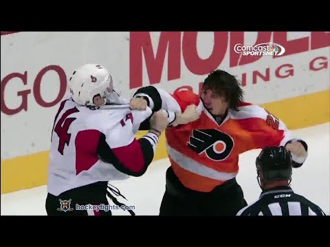 Luke Schenn vs. Colin Greening