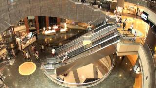 Video : China : A shopping mall in ShangHai - video