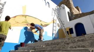 preview picture of video 'Assilah 2010 murals آصيلة مدينة الفنون'