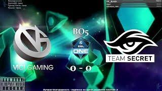 [RU] Vici Gaming vs. Team Secret - ESL One Hamburg 2018 BO5 by @pd4liver