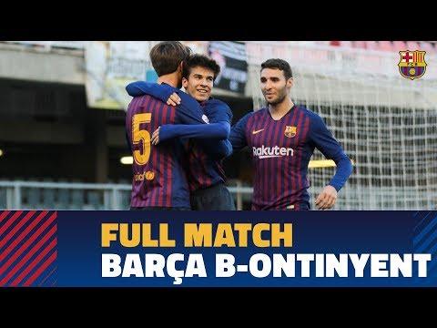 [PARTIDO COMPLETO] Barça B v Ontinyent (3-0)   2ª División B
