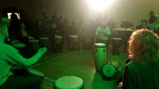 Community Spirit Drumming at Shamanic Tribes