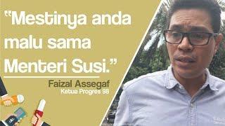 Fadli Zon Pamer Prestasi Akademik saat Debat, Faizal Assegaf: Mestinya Anda Malu sama Menteri Susi
