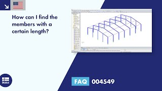 FAQ 004549 | How can I find the members with a certain length?