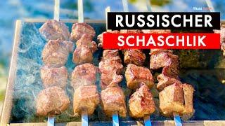 RUSSISCHER SCHASCHLIK / IM GASGRILL?