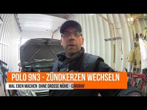 Polo 9N - Zündkerzen wechseln - schnell gemacht