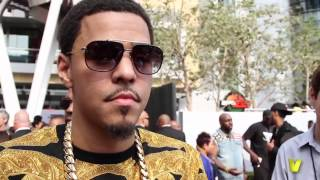 J. Cole Talks Made Nas Proud And Working With Kendrick Lamar  Drake