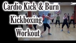 Cardio Kick & Burn Kickboxing Workout