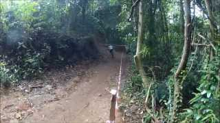preview picture of video 'Kluang Urban Downhill Race 8-9th Jun 2013'