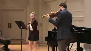 Noah Bendix-Balgley Masterclass - Serena Harnack 16, Mozart Concerto No 4 3rd mvmt