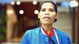 Marites Agarao, isang housekeeping staff. Ang Makabagong Bayani.