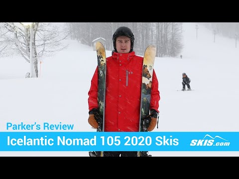 Video: Icelantic-Nomad-105-Skis-2020-16-50