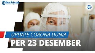 Update Covid-19 per 23 Desember di Seluruh Dunia: Mencapai 78 Juta