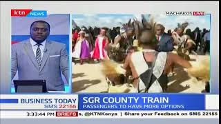 SGR COUNTY TRAIN: Second inter-county train flagged