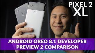 GOOGLE PIXEL 2 XL | Oreo 8.1 Developer Preview 2 Update Comparison: Visual Core, Audio, Display, etc