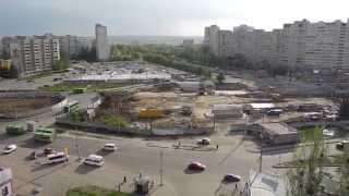 Строительство станции Победа Харьков