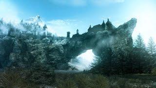 "TES V Skyrim: ""Legendary Edition"" Вилья, три скелета,SFO,Verdant (тест на ультра настройках) №2"