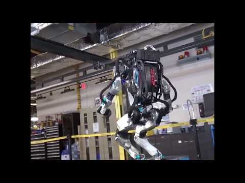 Boston Dynamics' humanoid Atlas robot does backflips