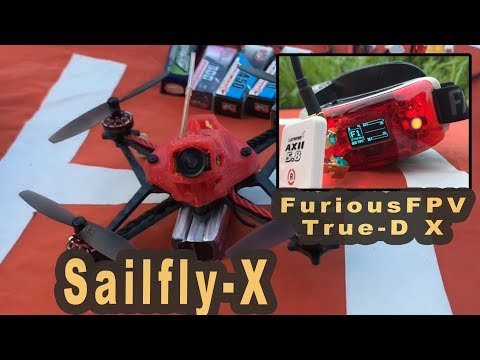 Happymodel Sailfly X Micro FPV und FuriousFPV True-D X Modul FPV Video